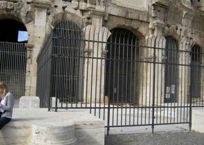 fucina-artistica-boranga-realizzazione-recinzioni-ferro-battuto-colosseo-roma-wrought-iron-coliseum-fences-rome-15