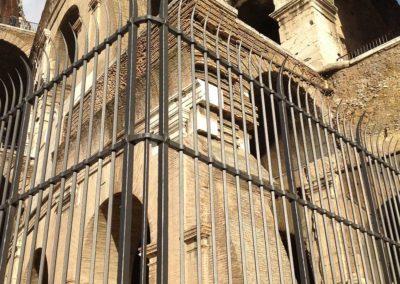 fucina-artistica-boranga-realizzazione-recinzioni-ferro-battuto-colosseo-roma-wrought-iron-coliseum-fences-rome-2