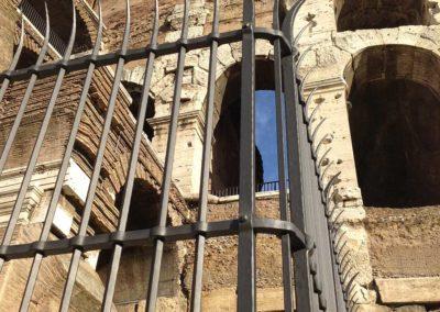 fucina-artistica-boranga-realizzazione-recinzioni-ferro-battuto-colosseo-roma-wrought-iron-coliseum-fences-rome-3