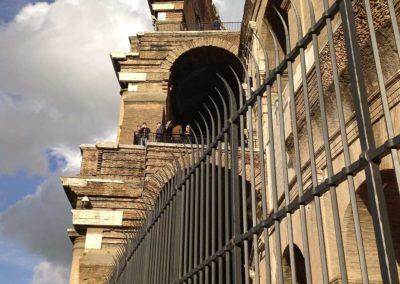 fucina-artistica-boranga-realizzazione-recinzioni-ferro-battuto-colosseo-roma-wrought-iron-coliseum-fences-rome-4