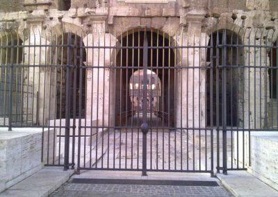 fucina-artistica-boranga-realizzazione-recinzioni-ferro-battuto-colosseo-roma-wrought-iron-coliseum-fences-rome-7