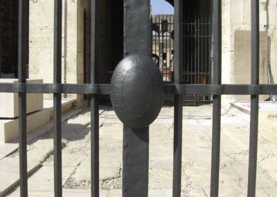 fucina-artistica-boranga-realizzazione-recinzioni-ferro-battuto-colosseo-roma-wrought-iron-coliseum-fences-rome-9